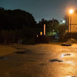 夜ジョグ:弥生台~立場~踊場(9/3 9.7km 44min)