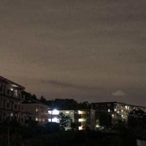 夜ジョグ:遊歩道・橋橋インターバル(9/7 6km 28min)