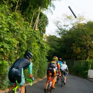 横浜CC周回x4(8/10 45km 104min)