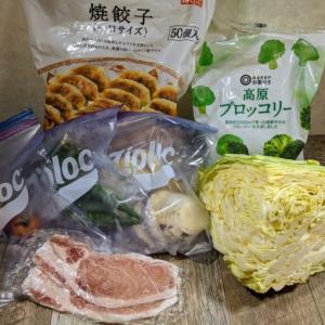 引きこもり生活57日目ずぼらストック料理「蒸し野菜」&「スパム定食」