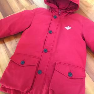 おニューのコート。ミニマルかまして2着で越冬!