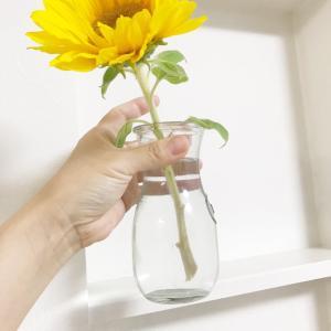花は1本だけでいい。理由は我が家だから。