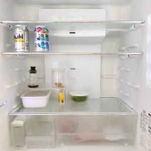控えめに言ってガラーン冷蔵庫は最高。