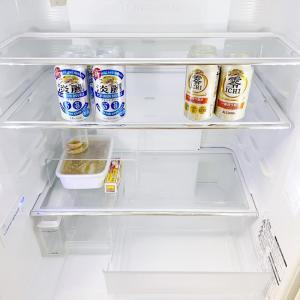 1/19の住 買い出し前の冷蔵庫。