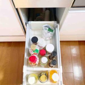 ミニマリストの調味料ゾーン掃除は無茶苦茶簡単。