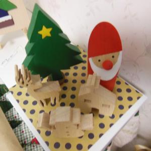 「クリスマス・お正月展」の準備は楽しい♪