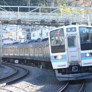 中央東線、仮復旧で単線運転!【JR東日本】