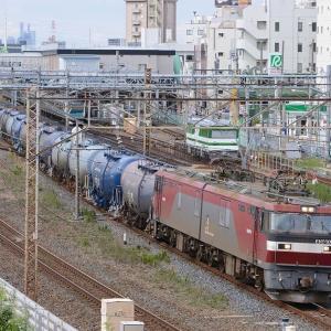 台風19号で迂回貨物運転中!(2)