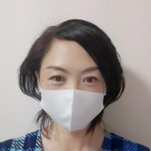 このマスクなら小顔にきれいに見える!!