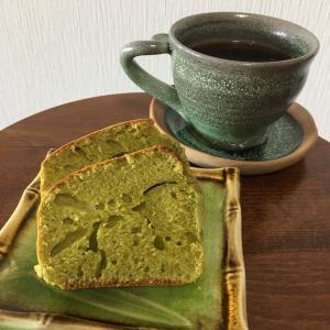 ホットケーキミックスで簡単抹茶パウンドケーキ