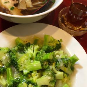大阪・阿波座でブロッコリーを食べるのだ