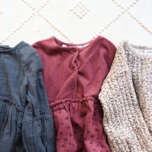 ZARAベビーガール秋冬服購入品。