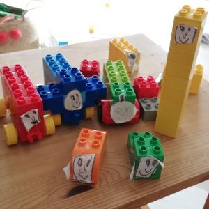 「LEGOデュプロ」ハック!5才まで使い倒す海外アイデアと私のまとめ。