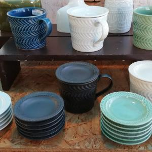 陶器市まで行ったのに結局楽天で皿を買う。