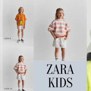 ZARA2020春夏新作のガールズがボーイッシュでして。