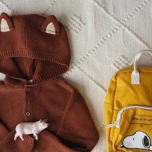 H&Mこども服とリュック購入。