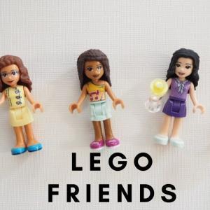 年中さんの娘、LEGOフレンズやってます。
