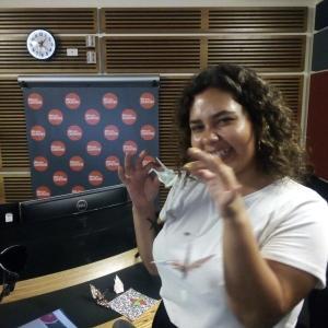 今日はインタビューを受ける側に~ABCラジオで折り紙の話をしますよ。