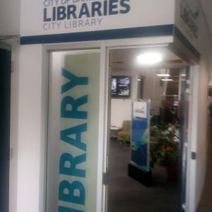 図書館へGo-