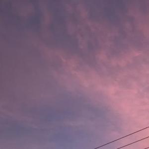 日没の空♪