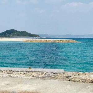 安座間サンビーチと奥武島♪