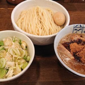 麺処 井の庄@石神井公園「味玉つけめん(肉増し)」「ネギ飯」