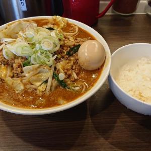 イノショウ (INOSHOW)@保谷 「赤と黒W豆板醤の麻婆麺」