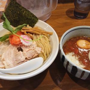 麺屋 蕃茄 (ばんか)@大泉学園「トマトチーズつけ麺」「Mountainチューシュー丼」