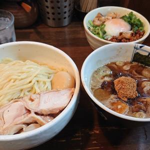 麺処 井の庄@石神井公園「味玉つけ麺」「肉だく麻婆ソース豚ごはん」