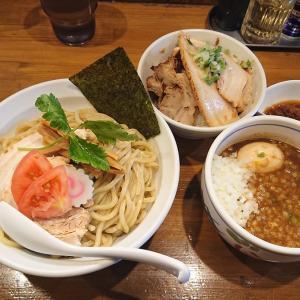 麺屋 蕃茄 (ばんか)@大泉学園「濃厚魚介つけ麺」「Mountainチューシュー丼」