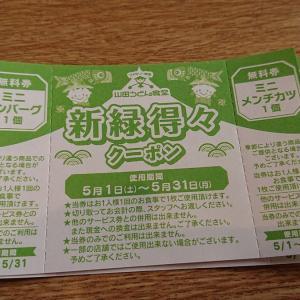 山田うどん 新座畑中店「昭和の冷やし中華」「ミニ玉子丼」