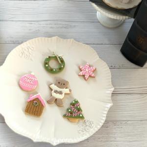 クリスマスアイシングクッキーリクエストレッスン