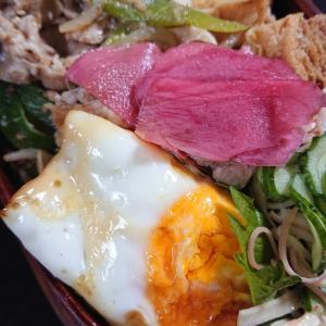 豚肉の炒め物弁当