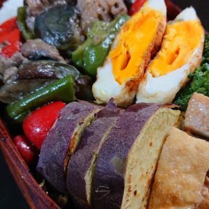 牛小間と野菜の炒め物弁当