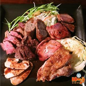 9周年メニュー「肉もりプレート」