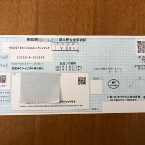 三菱HCキャピタル 配当金
