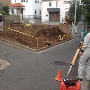 解体後の再度敷地調査