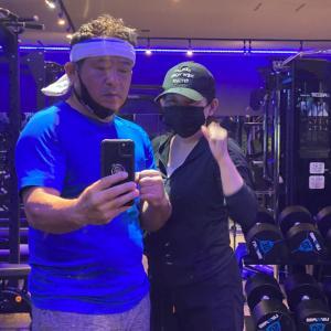 夫婦揃って身体を鍛えています。