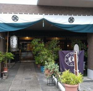 京都中心部の酒蔵