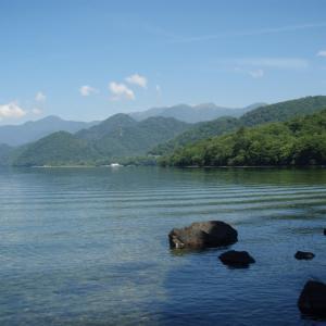大自然が楽しい・・また中禅寺湖