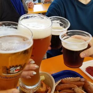 ドイツビールから韓国焼酎のはしご!!