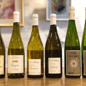 こっそり開催されていた白ワインの会♪