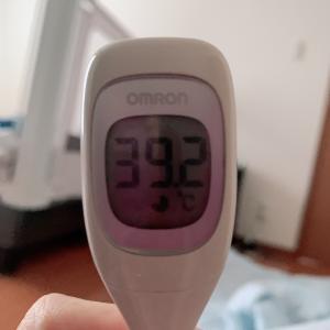 コロナワクチン2回目〜接種翌日、高熱〜