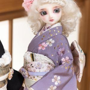 Madam.K様「人形着物作品展」と総刺繍のお着物