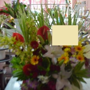 沖縄県那覇市の花屋アレンジマニア 開店祝い