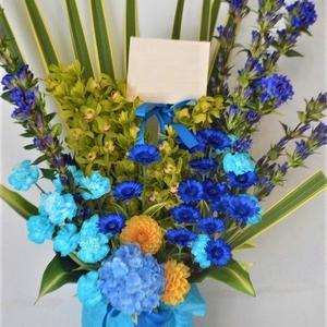沖縄県で開店祝いのお花の配達。花屋アレンジマニア。