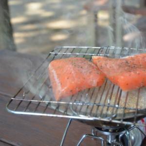 夏キャンプ2019「森のひととき」1日目は燻製作り&BBQの晩ごはん