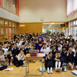 『金沢市杜の里小学校にて♬』