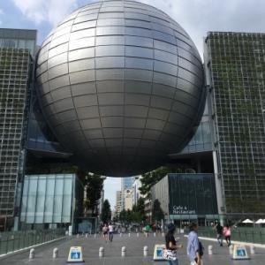 【名古屋市科学館の銀色のお月様】#joystick  #ジョイスティック #秋田 #ロック #ソウル #ミュージック #ブラックミュージック