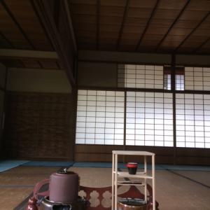 松殿山荘公開の呈茶(2018・春)